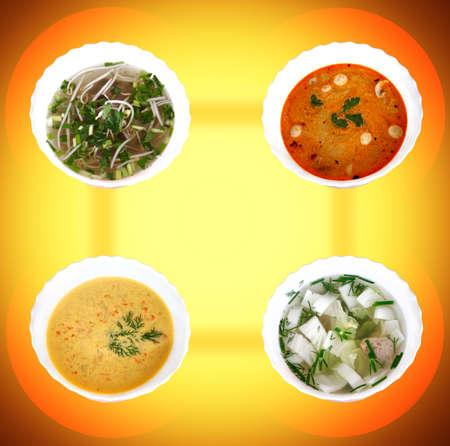 Asian Hot sou Studio Quality Stock Photo