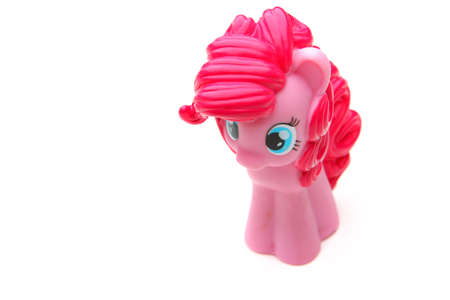 baby rubles pink unicorn toy