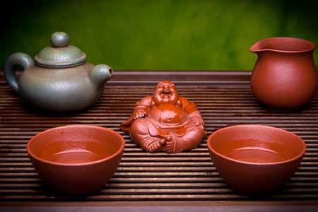 Chinese ceramic teapot tea