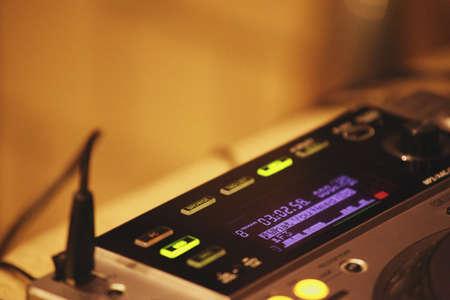 Dj turntables studio work