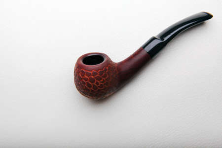 cherry wood smoking pipe