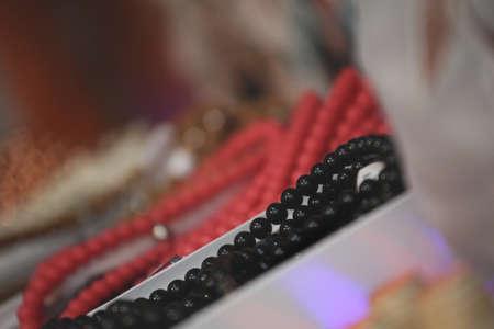 jewelery set market place Banque d'images