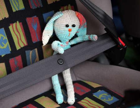 safety belt wool toy Reklamní fotografie