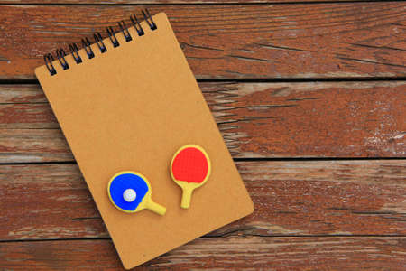 tennis tabble paddle notepad