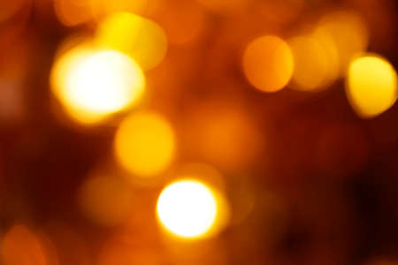 gold ball bokeh dark background Stok Fotoğraf