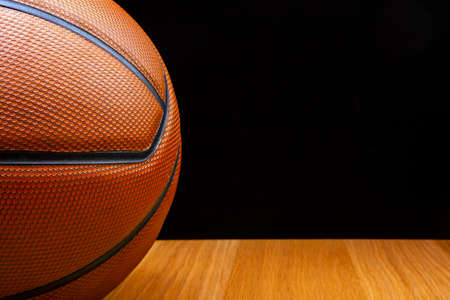 image of basketball wooden desk