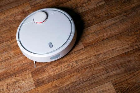 image of vacuum cleaner wooden desk