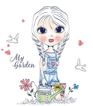 jeans skirt: girl