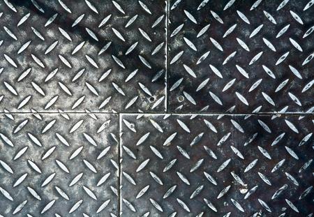 Grunge rusty metal background, metallic panels. Stock Photo - 8854086