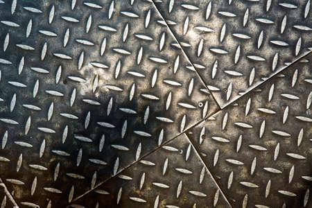 Grunge rusty metal background, metallic panels. Stock Photo - 8854117