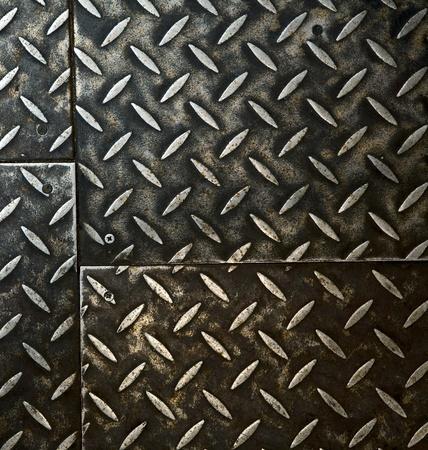 Grunge rusty metal background, metallic panels. Stock Photo - 8854079