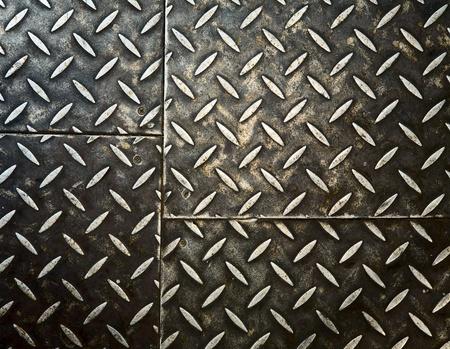 Grunge rusty metal background, metallic panels. Stock Photo - 8859999