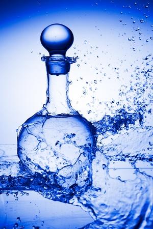 water refreshing Stock Photo