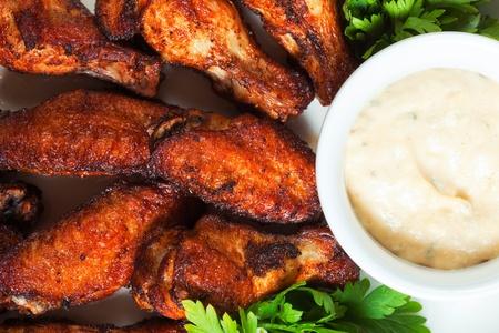 alitas de pollo: Alas de pollo