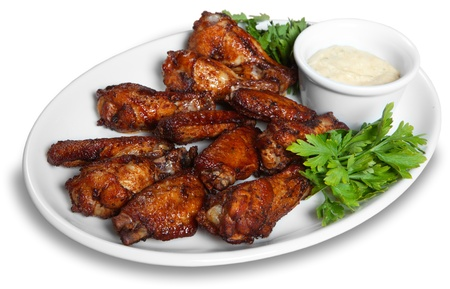 Chicken wings Stock Photo - 9072504