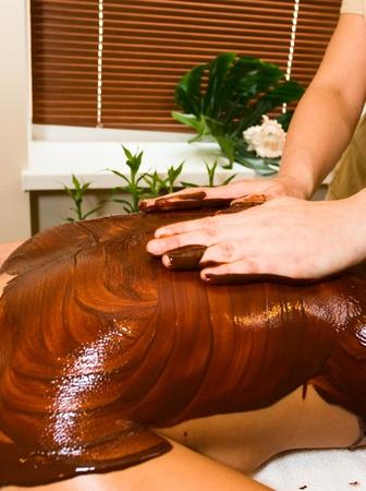 Spa massage Stock Photo