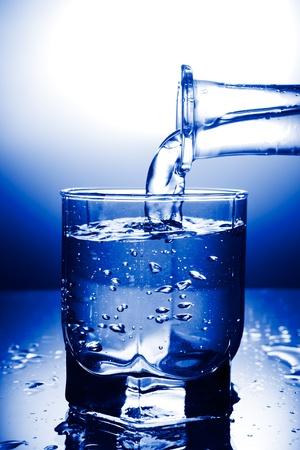 water Standard-Bild