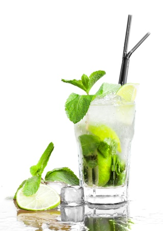 cocktail and ice Stock Photo - 10039150
