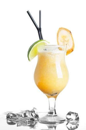 coctel margarita: c�ctel y hielo