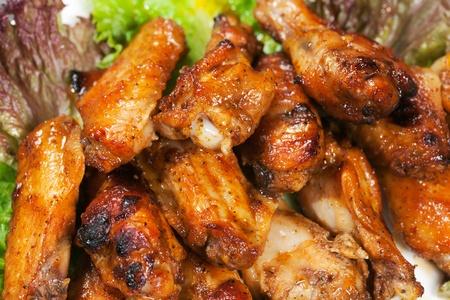 Alas de pollo Foto de archivo - 10617283