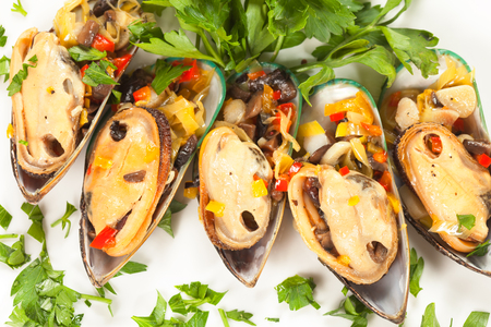spicery: edible mussels with spicery