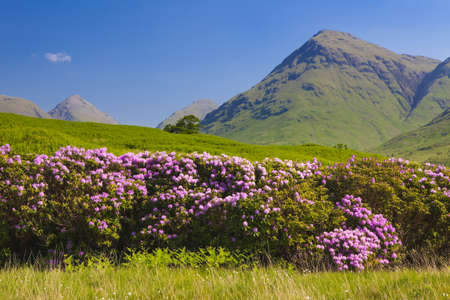 Springtime view of Maol castle, Kyleakin, Isle of Skye