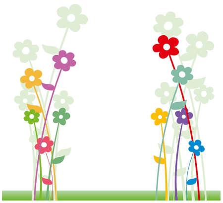 flowering: Flowers Illustration