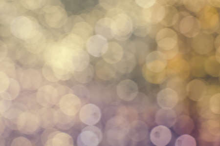spangle: Picture of bokeh illustration with big glowing round light spots on copy space background