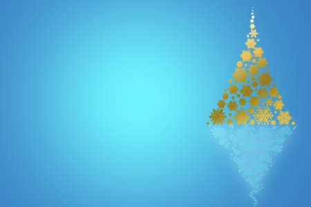 festive background: Background with Christmas tree, festive design