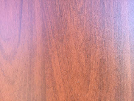 laminated: Laminated wooden surface background, closeup picture Stock Photo