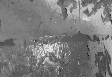 rusty nail: Vintage grungy background of galvanized rusty metal wall texture surface Stock Photo