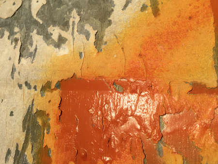 aluminium texture: Closeup view of grungy old rusty galvanized iron texture design background