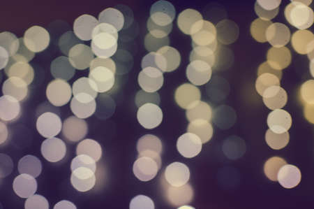 Blurred Background With Natural Abstract Bokeh And Bright Magic Lights
