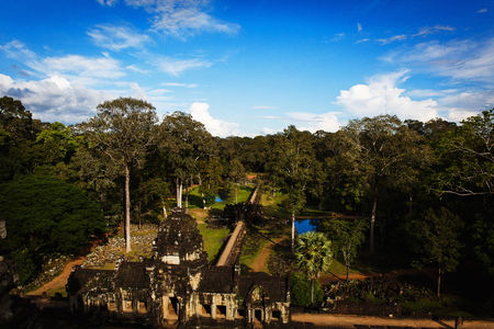 siem reap: Angkor Wat Temple in Siem Reap, Cambodia Stock Photo