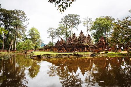 siem reap: Angkor Wat Temple in Siem Reap in Cambodia