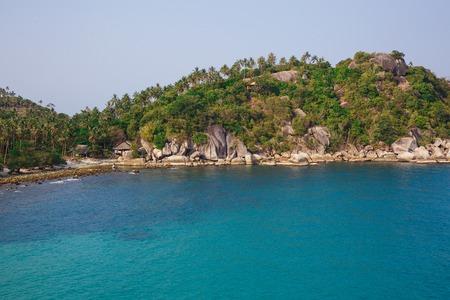 Beautiful scenery of beach