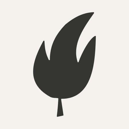 folha: folha de árvore em preto e branco