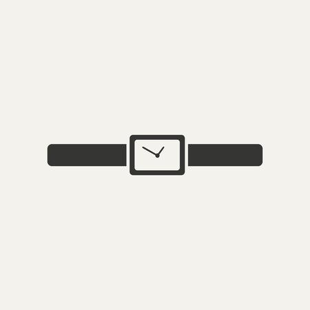 orologio da polso: orologio da polso in bianco e nero
