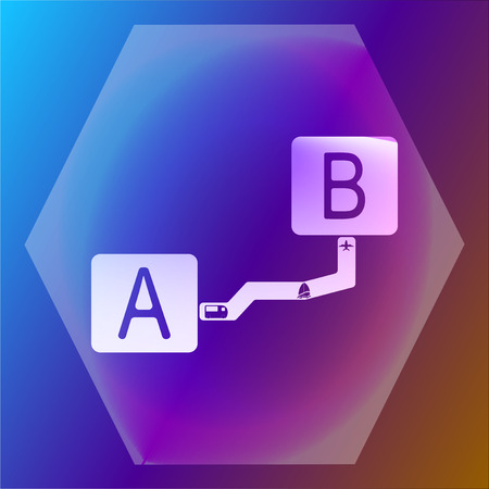 interval: paper interval icon sticker