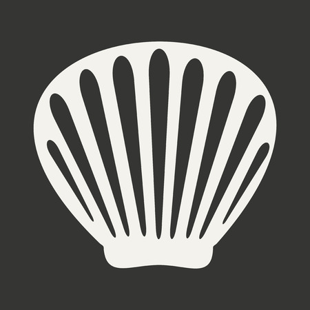 barnacle: Flat in black and white mobile application shell