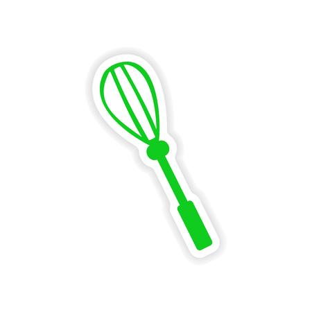 corolla: icon sticker realistic design on paper corolla