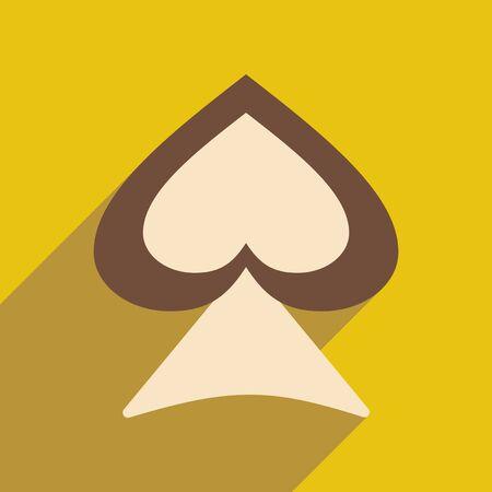 pico: Piso con el icono de la sombra y el pico de demanda de aplicaciones m�viles Vectores