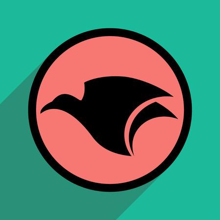 eagle flying: logo flying eagle