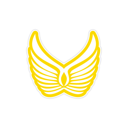 wings icon: Sticker Eagle Wings  icon