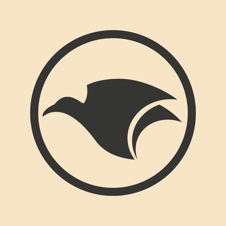 aigle: Appartement en noir et blanc application mobile aigle
