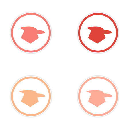 assembly: assembly sticker eagles logo Illustration