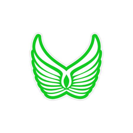 logo: Sticker Eagle Wings logo