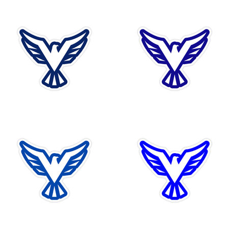 assembly: assembly sticker eagle silhouette