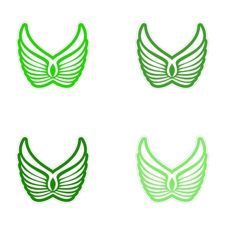 montaje: montaje pegatinas alas de �guila