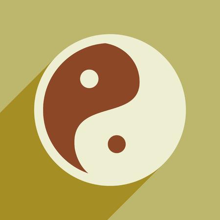 harmony: yin yang symbol of harmony